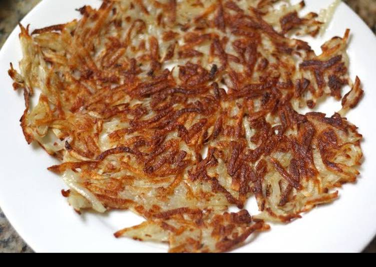 Steps to Make Speedy Hash Browns