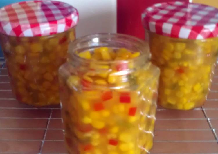 Step-by-Step Guide to Prepare Super Quick Homemade Vickys Sweetcorn Relish, GF DF EF SF NF