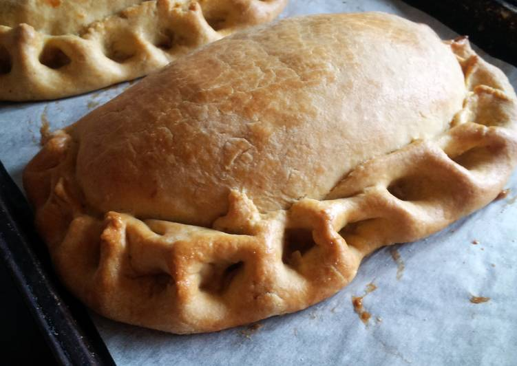 Home-made Teri oggys - or Welsh pasties