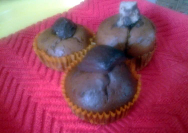 Home made chocolate cupcakes