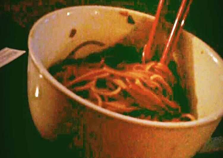 Japanese Soy Sauce Pasta