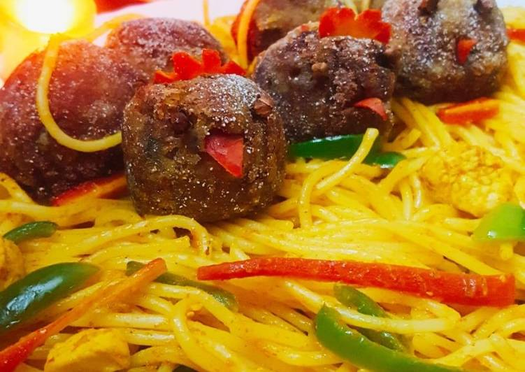 Recipe of Quick Spaghetti meatballs