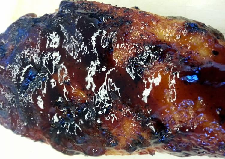 Easiest Way to Prepare Award-winning Blueberry Bourbon Chicken