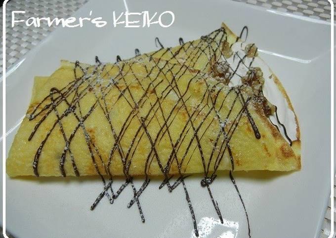 Recipe: Tasty [Farmhouse Recipe] Rice Flour Chewy Crepe