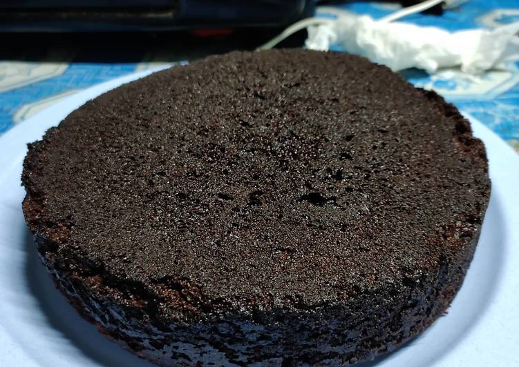 Resep Base Cake Coklat/Kue Ultah/Black Forest yang Lezat