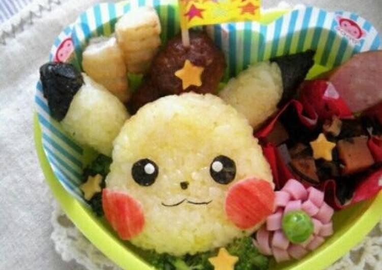 Selecting The Best Foods Can Help You Stay Fit As Well As Healthy Easy! Cute Pikachu Bento