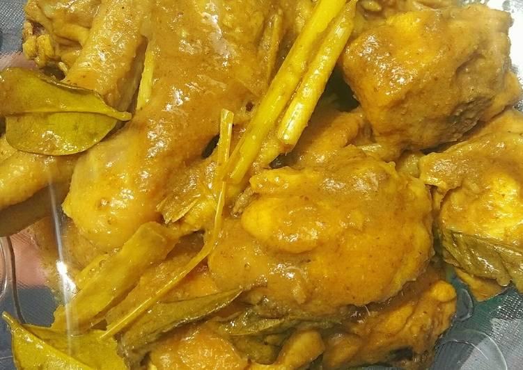 Ayam ungkep (untuk ayam penyet)