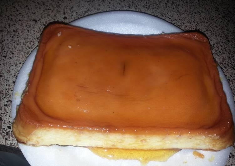 Cheese Flan ( Puertorrican Flan)