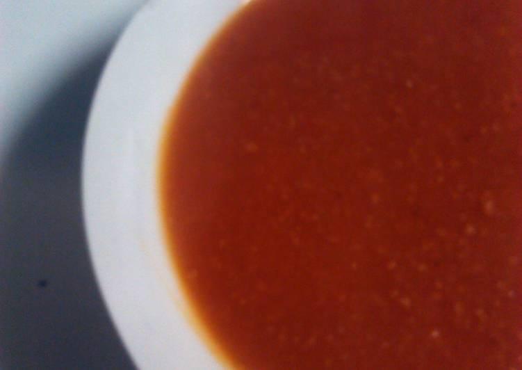 My Smokey pumpkin soup