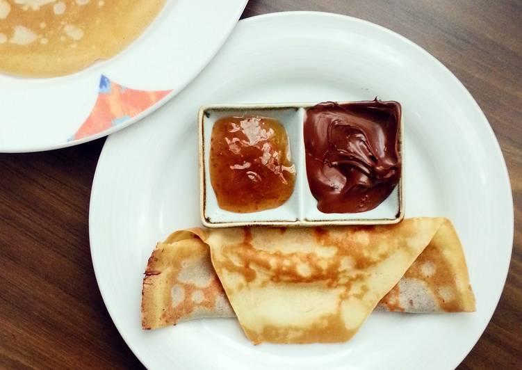 Simple Way to Prepare Quick Norwegian Thin Pancakes