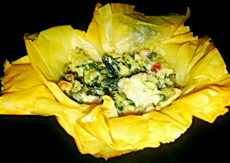 Step-by-Step Guide to Prepare Homemade Mike's Garlic Artichoke Phyllo Blossoms