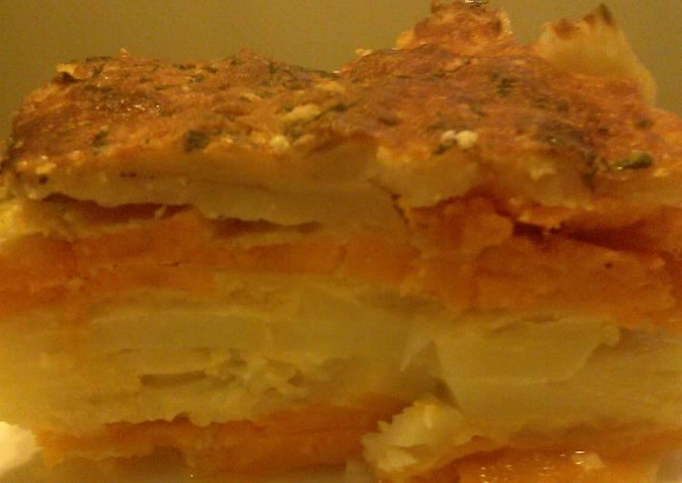 Layered Potato- Duo Bake