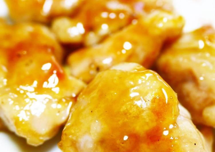 For Bento! Bite-Sized Teriyaki Chicken