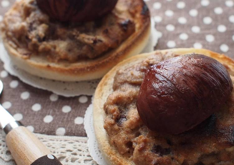 Living Greener for Better Health By Eating Superfoods Autumnal Mont Blancs Like Toasted English Muffins