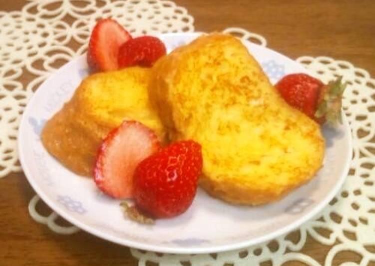 Easy Breakfast -- Baguette French Toast