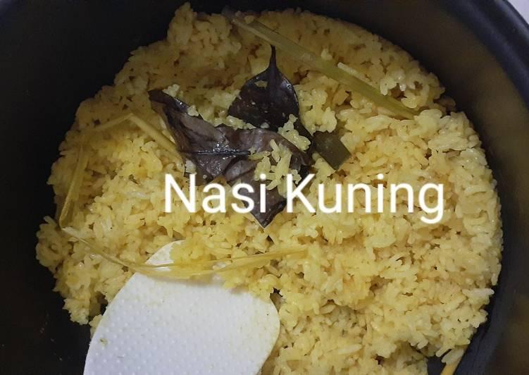 27. Nasi Kuning Magic com - cookandrecipe.com