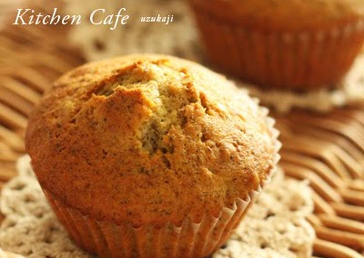 Recipe of Ultimate Yuzu Jam and Tea Muffins