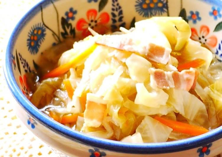 Simmered Kiriboshi Daikon and Cabbage