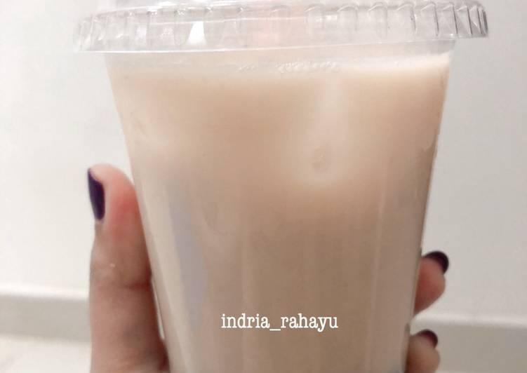 Resep Ice Bubble Milk Tea (Cencu Naicha), Bikin Ngiler