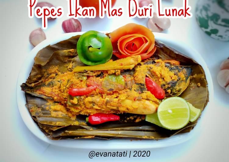 Pepes Ikan Mas Duri Lunak