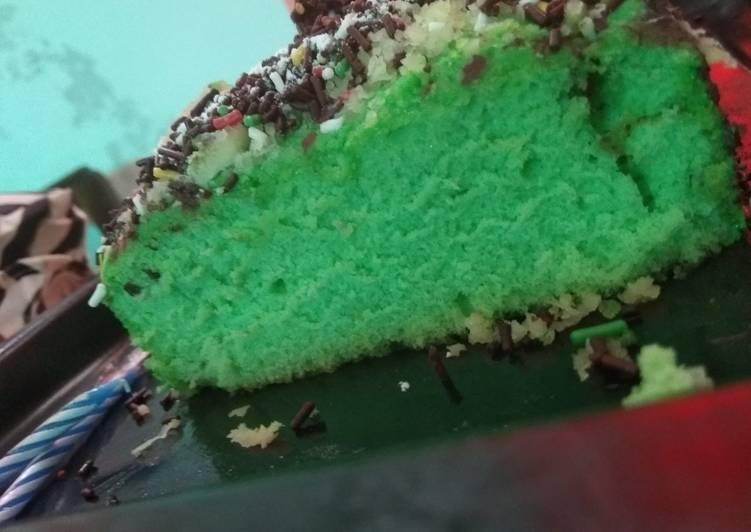 Cake Pandan Panggang