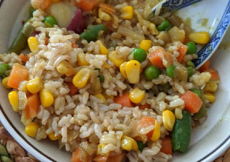 Majid's Vegetable Curry