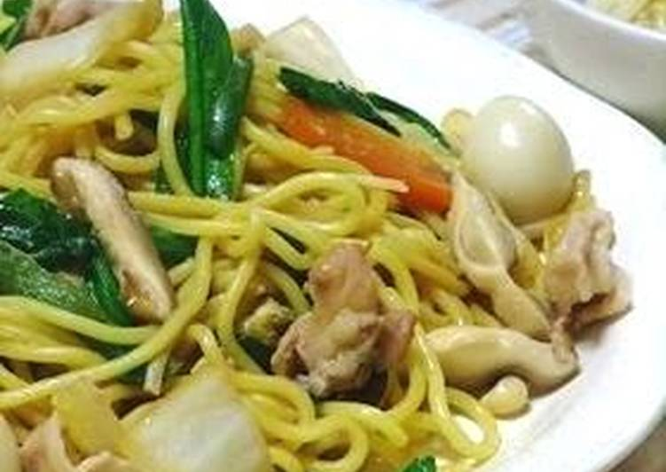 Easy and Yummy Shanghai-Style Yakisoba Noodles, Choosing Healthy and balanced Fast Food
