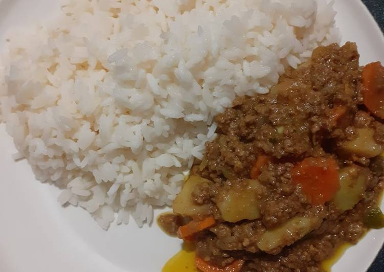 10+ Dinner Easy Diet Perfect Minced meat with potatoes&Carrots