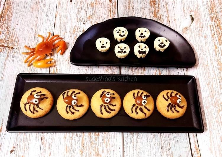 Short-bread Spider Cookies