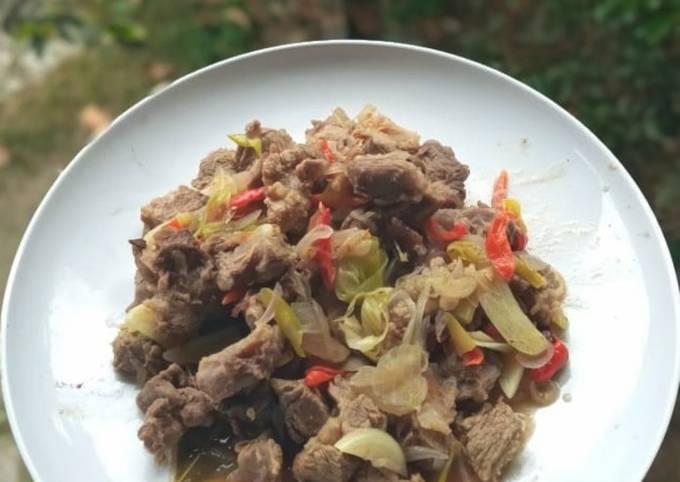 Tumis daging sapi (Diet)