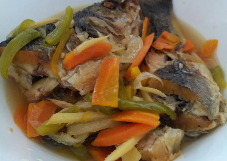 Easiest Way to Prepare Speedy AMIEs Sweet and Sour Fish