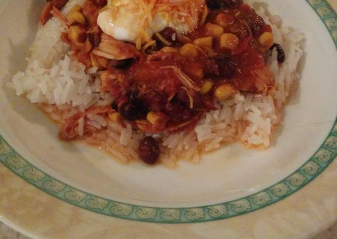 Recipe of Heston Blumenthal Easy slow cooker chicken chili