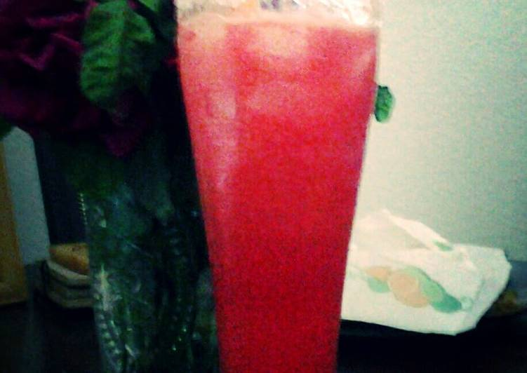 Zesty Watermelon Smoothie