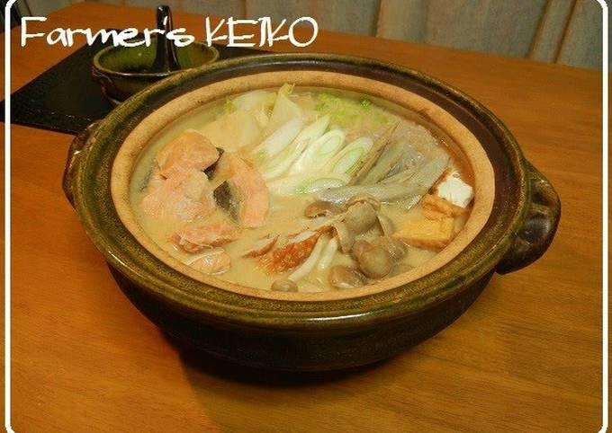 [Farmhouse Recipe] Japanese Hot Pot with Sake Lees