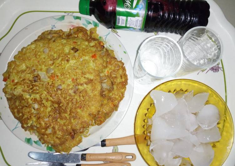 Fried indomie (soyayyar indomie da kwai)