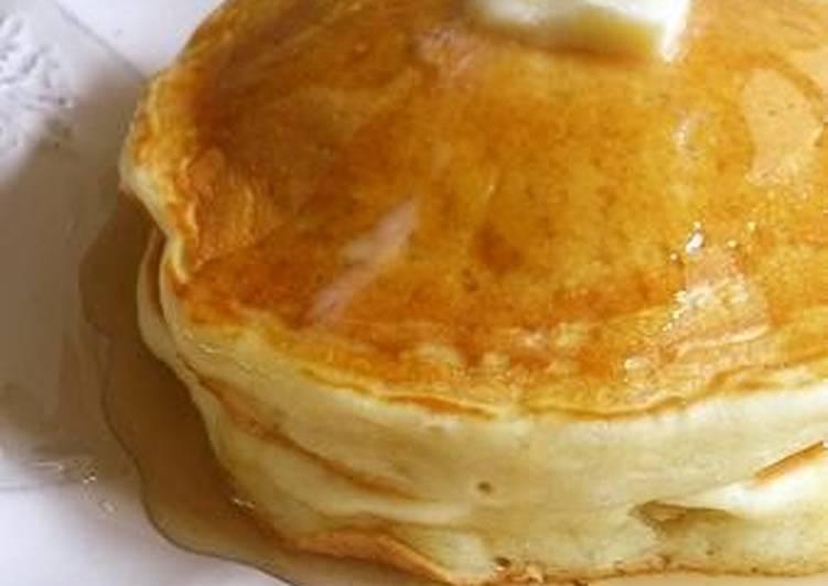 25 Minute Recipe of Autumn Egg-Free! Fluffy! Tofu Pancakes!