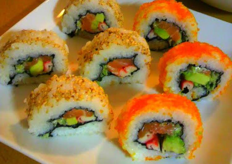 Eating 14 Superfoods Is A Terrific Way To Go Green For Better Health Colorful California Rolls