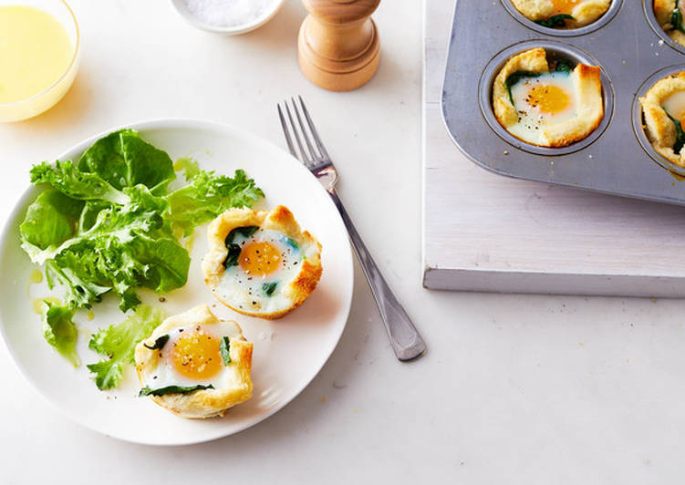 Easy Florentine Egg Cups