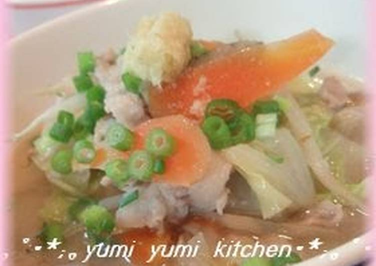 Our Family Recipe For Warming Tonjiru Pork Soup, Help Your Heart with The Right Foods