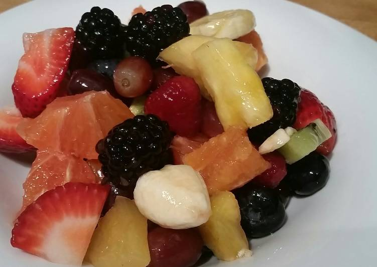 Fruits Salad Ala Me..😃