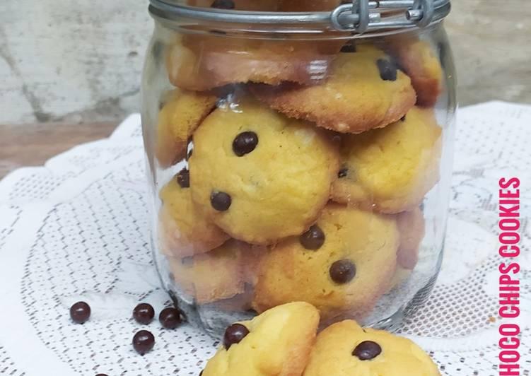 Vanilla Choco Chips Cookies