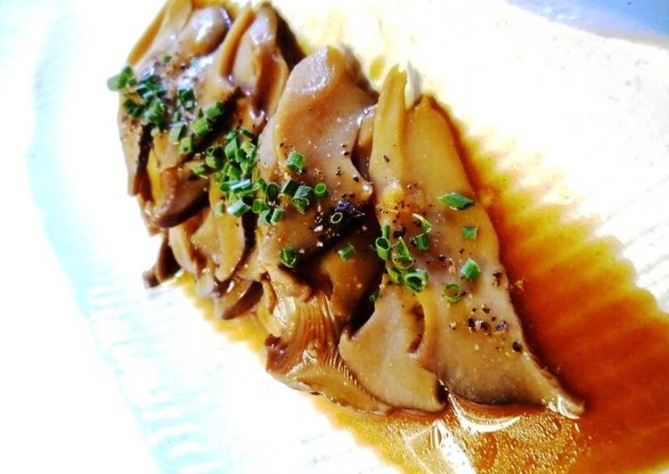 Dining 14 Superfoods Is A Superb Way To Go Green And Be Healthy Braised King Oyster Mushrooms with Oyster Sauce and Mustard