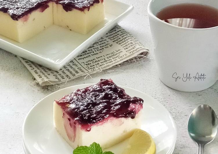Simple Blueberry Cheesecake