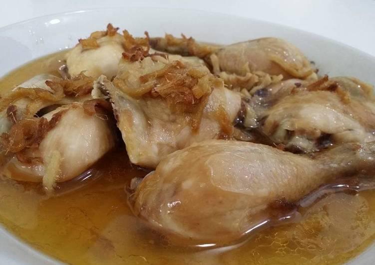Easy steamed chicken