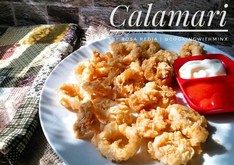 Calamari (Cumi Goreng Tepung)