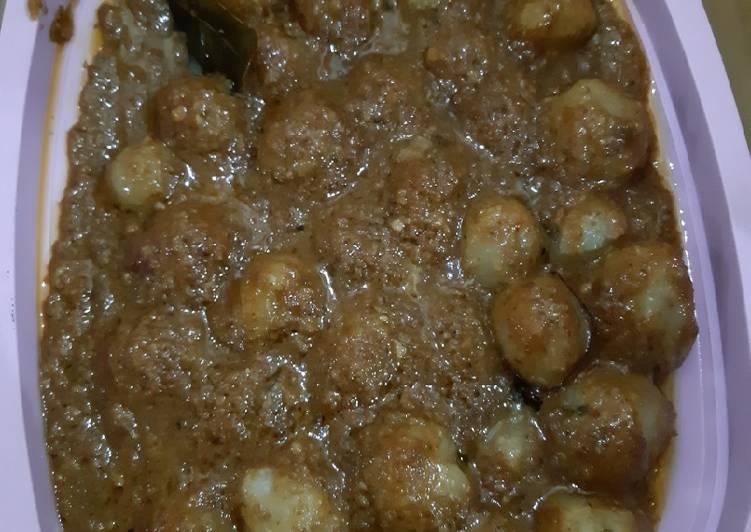 Cilok Keju bumbu kacang