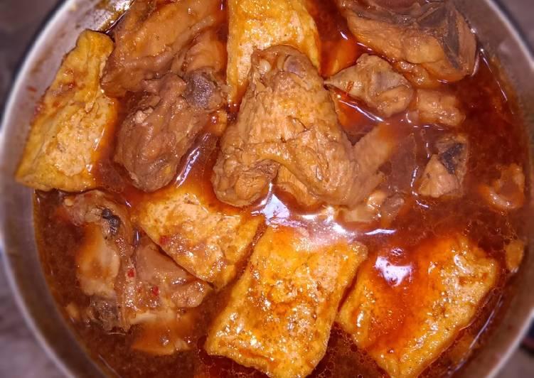 Resep Ayam Kecap Tahu Simpel Oleh Yolanda Cookpad