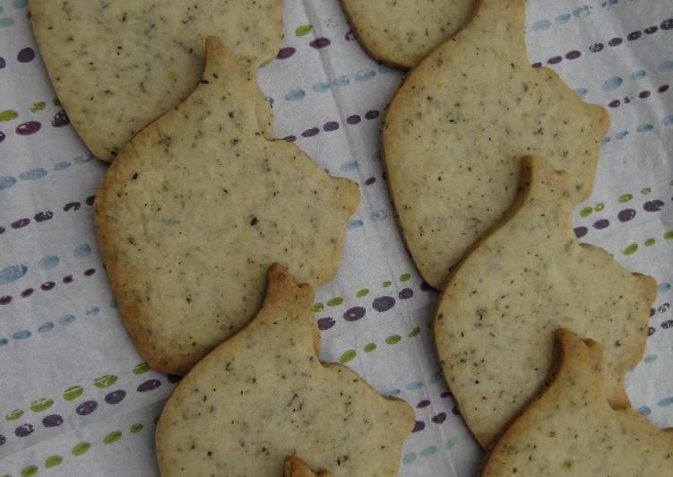 Black Tea Cookies
