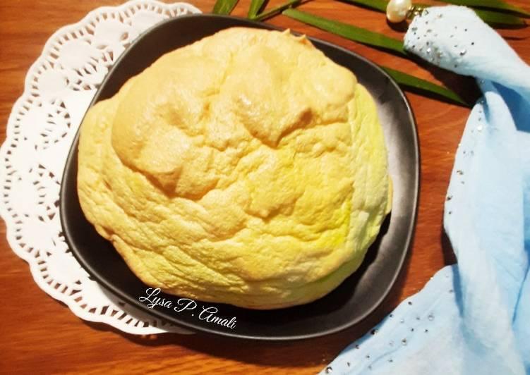 Resep Cloud Bread / Roti Awan Tiktok