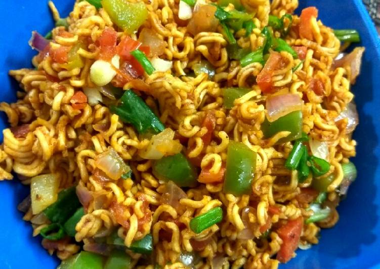 Recipe of Any-night-of-the-week Chinese bhel